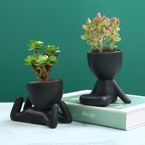 Ceramic Succulent Pot Creative Fleshy Flower Plant Vase Indoor Planters Home