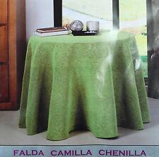 FALDA DE MESA CAMILLA CHENILLA  A CAPA