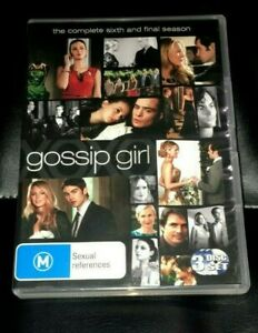 Gossip Girl : Season 6 (2013 :3 Disc DVD Set) Very Good Condition Region 4
