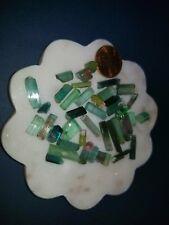 Terminated BUNCH 93carats Paraiba BLUE GREEN - Bi Color TOURMALINE lot
