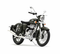 Royal Enfield Classic 350 1:12 Scale Model Battle Green