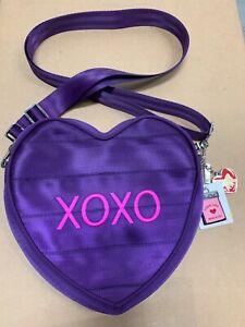Harvey Seat Seweet Heart belt bag crooss body purple