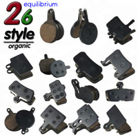 DISC BRAKE PADS ORGANIC RESIN AVID SHIMANO HOPE MAGURA FORMULA TEKTRO 26 TYPES!!