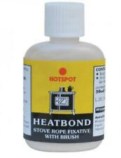 Hotspot HeatBond Rope Glue 30ml with brush for Wood burning / Multi Fuel Stoves