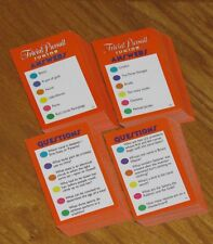 Trivial Pursuit Junior Jr 4th Edition trivia game cards for kids 1996 Hasbro