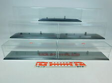 au995-2 #5x Herpa H0 Display Cabinet 25 cm For Lorry/Trailer Truck / Roadtrain /