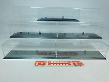 AU995-2# 5x Herpa H0 Vitrine 25 cm pour Semi-remorque/Véhicule routier/Hängerzug