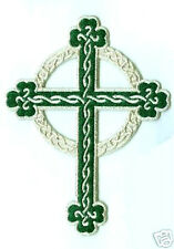 CRUCIFIX EMBROIDERED MALTESE CROSS iron cross iron-on PATCH