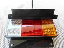 24V1 Pair 44 LED with Reflector #032 Tail Lights 4 Ute, Trailer ,Truck , Caravan
