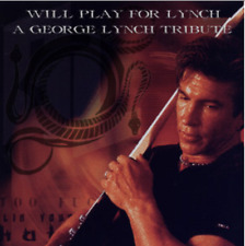 Audio CD - GEORGE LYNCH - Will Play For Lynch Tribute - Parmar Coggin NEW SEALED