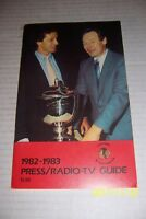 1982 83 CHICAGO BLACK HAWKS Media Guide Yearbook STAN MIKITA Doug WILSON Espo