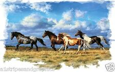 Horse Stallion Mustang #2 RV Trailer Wall Mural Decal Decals Graphics Art