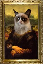 Grumpy Cat Mona Lisa Poster Print, 13x19