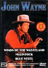 WINDS OF THE WASTELAND, MCLINTOCK, BLUE STEEL * NEW DVD