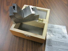 "Adjustable Angular Gage, Adjustable Angle Block, 4x2x2"", 0-60 degree-NEW"