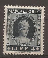 1953-1954 REPUBBLICA MARCA DA L. 4 DEA ROMA TESTA PICCOLA NUOVA MH* - PERFETTA