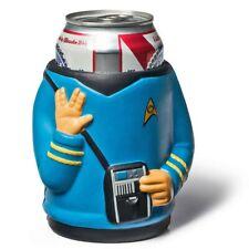Star Trek Spock Foam Beer Can Cooler Blue