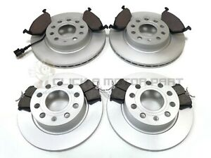 VW GOLF MK6 1.2 1.4 1.6 2009-2012 FRONT & REAR BRAKE DISCS AND PADS (CHECK SIZE)