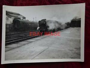 PHOTO  SR WEST COUNTRY LOCO NO 34042 AT BOURNEMOUTH CENTRAL 13-3-65