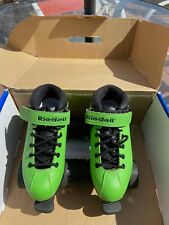 Riedell Dart Youth Quad/ Derby/ Roller Skates size 2
