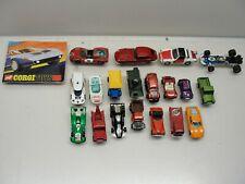 VINTAGE LOT OF 19 ASSORTED CORGI TOYS CARS TRUCKS TANK CATALOG