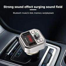 Bluetooth Car FM Transmitter Car Charger MP3 Player USB for iPhone Samsung