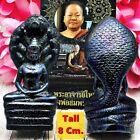 16608 Leklai Naga Cobra Protection Buddha Statue Thai Amulet Lucky Rich Somporn
