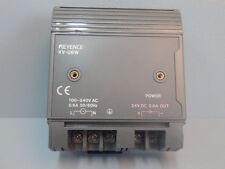 KVU6W   - KEYENCE -  KV-U6W / POWER SUPPLY MODULE 100-240VAC / 24VDC 0.8A   USED