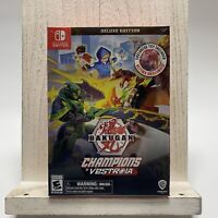 Bakugan: Champions of Vestroia DELUXE Edition with Toy & Cards (Nintendo Switch)