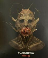 The Terror Of Hallow'S Eve Scarecrow Mask Halloween Cosplay Life Size