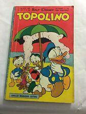 Topolino N 186 Libretto Originale Disney Mondadori