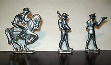 World War 1 - Lead Toy Soldiers - Set of 3 - One on Horse - From Vintage Mold