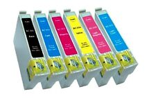 PACK 6 TINTA GEN NON-OEM EPSON PHOTO R265 T0801 T0802 T0803 T0804 T0805 T0806 HQ