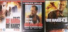 DIE HARD QUADRILOGY 1,2,3,4 Bruce Willis Epic Action Thriller 5 Disc DVD *EXC*