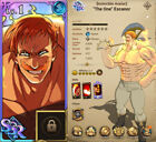 [GLOBAL] The ONE Escanor, Seven Deadly Sins Grand Cross Account, 7DS, STARTER