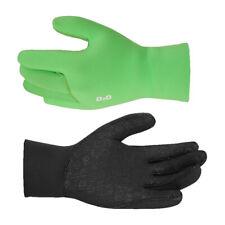 D2D NEO-G Neoprene Cycling Gloves - Black or fluoro Hi-vis