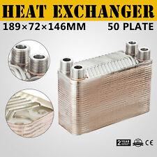 221kW Edelstahl Plattenwärmetauscher ohne Isolierung B3-23A-50 für Solaranlage