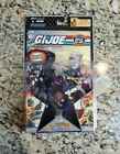 Snake Eyes Storm Shadow Comic Pack 2008 GI JOE COBRA 25th Anniversary MOC #1