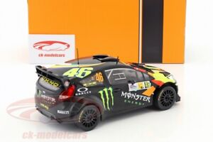 1:18 Ixo 2012 Ford Fiesta RS WRC #46 Monster / Hoonigan (Rare)