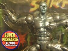 Marvel Legends SILVER SURFER w/ Howard the Duck ERROR VARIANT - MIP ! Toy Biz