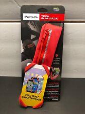 Perfect Tech Slim Pack Running Pouch Belt LED Light Universal Phone Mount