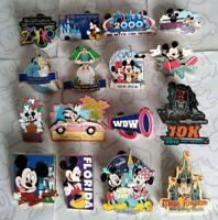 Happiest Celebration on Earth Walt Disney World Starter Travel Set Choose a Pin
