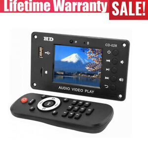 "7V-24V Clock Timing Switch Decoder Multimedia Playback 2.8"" LCD Decoding Board"