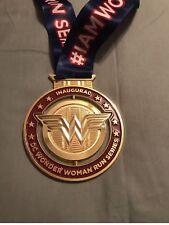 DC Wonder Woman Race Medal Comic-Con 5k RARE! San Diego 5k/10k Inaugural Race!
