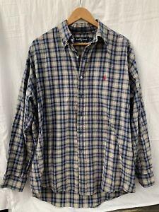 Ralph Lauren Checked Long Sleeve shirt Mens Size L