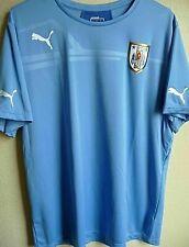 best authentic 5124f 1dc9e Uruguay Blue National Team Soccer Jerseys for sale   eBay