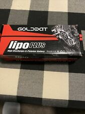 Gold EDT 5200mAh 50C Lipo Plus High Discharge - Fast Charge Li-Polymer Battery