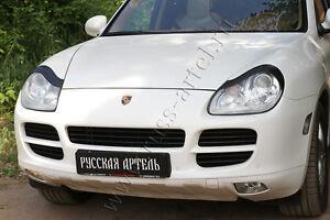 Porsche Cayenne 2002-2010 eye brow, eyelids, cilia head lights, pair