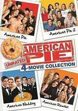 American Pie: Movie Collection 1-4 Unrated (DVD, 2014, 4-Disc Set, Unrated)