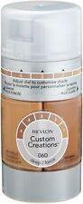A6) Revlon Custom Creations Foundation-  DEEP #060 - Brand New / Sealed